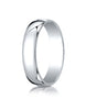 Benchmark-14K-White-Gold-5mm-Low-Dome-Light-Wedding-Band-Ring--Size-4--L15014KW04