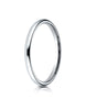 Benchmark-Platinum-2mm-Slightly-Domed-Standard-Comfort-Fit-Wedding-Band-Ring--Size-4--LCF120PT04