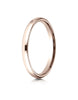 Benchmark-14K-Rose-Gold-2.5mm-Slightly-Domed-Standard-Comfort-Fit-Wedding-Band-Ring--Size-4--LCF12514KR04