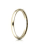 Benchmark-14K-Yellow-Gold-2.5mm-Slightly-Domed-Standard-Comfort-Fit-Wedding-Band-Ring--Size-4--LCF12514KY04