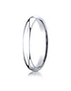 Benchmark-14K-White-Gold-3mm-Slightly-Domed-Standard-Comfort-Fit-Wedding-Band-Ring--Size-4--LCF13014KW04