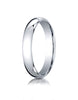 Benchmark-Platinum-4mm-Slightly-Domed-Standard-Comfort-Fit-Wedding-Band-Ring--Size-4--LCF140PT04