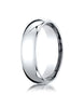 Benchmark-Platinum-6mm-Slightly-Domed-Standard-Comfort-Fit-Wedding-Band-Ring--Size-4--LCF160PT04