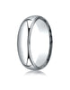 Benchmark-Palladium-6mm-Slightly-Domed-Standard-Comfort-Fit-Wedding-Band-Ring-with-Milgrain--Size-4--LCF360PD04