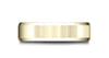 Benchmark-14k-Yellow-Gold-6.5mm-Comfort-Fit-Satin-Finished-w/-Beveled-Edge-Carved-Design-Band--Size-4.5--LCF66541614KY04.5