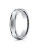 Benchmark-18K-White-Gold-4mm-Comfort-Fit-Satin-Finished-High-Polished-Round-Edge-Carved-Design-Band--4--RECF7402S18KW04