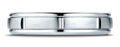 Benchmark-18K-White-Gold-4mm-Comfort-Fit-Satin-Finish-8-Center-Cuts-and-Round-Edge-Band--Size-4.25--RECF7445218KW04.25