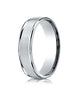 Benchmark-14K-White-Gold-6mm-Comfort-Fit-Satin-Finish-High-Polished-Round-Edge-Carved-Design-Band--Sz-4--RECF7602S14KW04