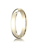 Benchmark-14K-Yellow-Gold-4mm-Slightly-Domed-Super-Light-Comfort-Fit-Wedding-Band-Ring--Size-4--SLCF14014KY04