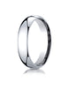 Benchmark-Platinum-5mm-Slightly-Domed-Super-Light-Comfort-Fit-Wedding-Band-Ring--Size-4--SLCF150PT04