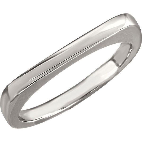 Sterling Silver Stackable Ring, Size 7