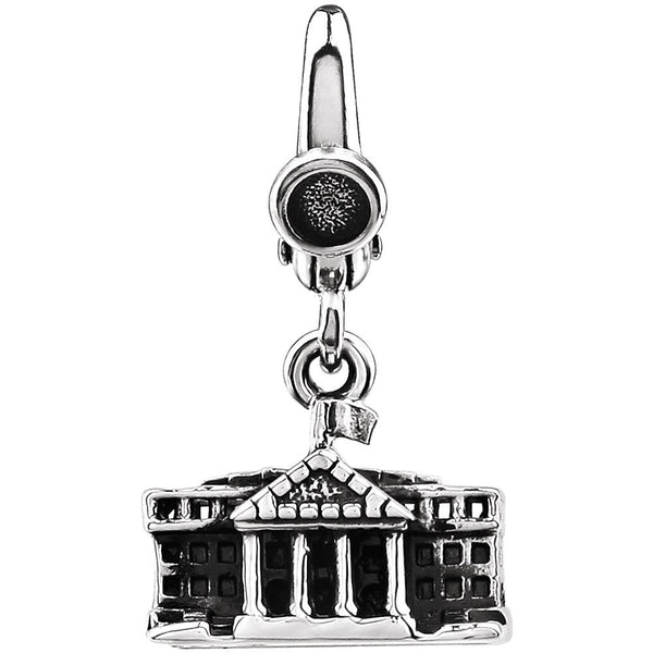 Sterling Silver White House Charm