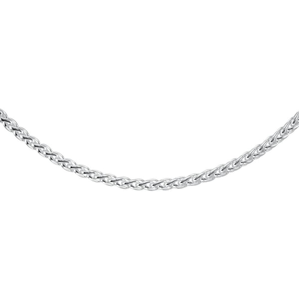6mm Sterling Silver Wheat Chain