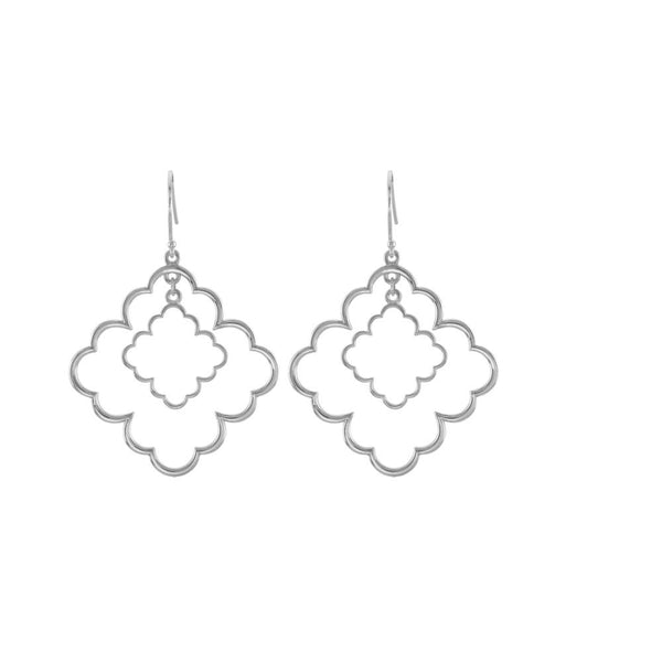 Sterling Silver Decorative Earrings