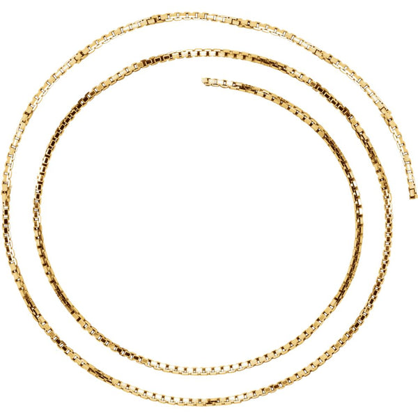 "14k Yellow Gold 1.75mm Solid Box 16"" Chain"