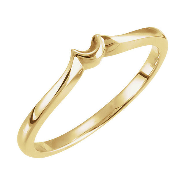 14k Yellow Gold Band, Size 7