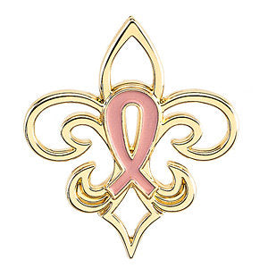 Sterling Silver Pink Pourri™ Breast Cancer Awareness Lapel Pin