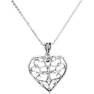 Sterling Silver The Worth of a Mother Necklace