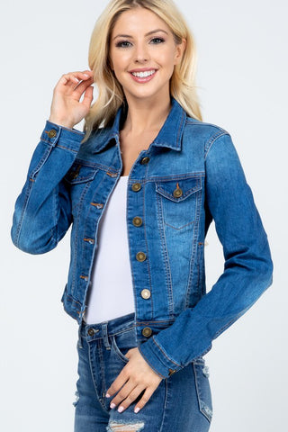 "Denim Jacket ""MAKAYLA"""