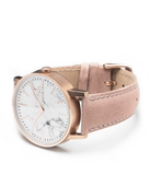 PINK LEATHER/ROSE GOLD CASE WATCH