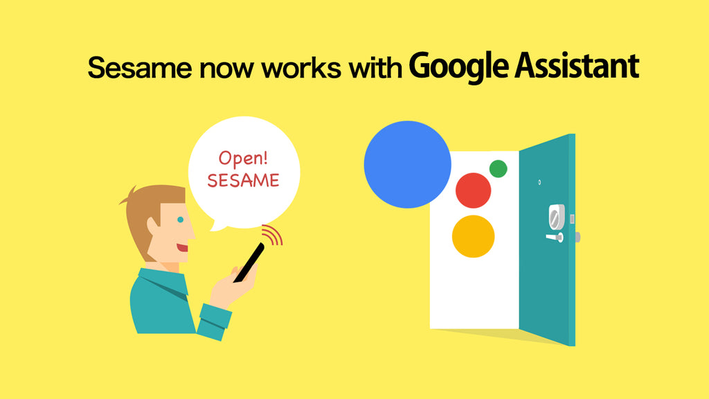 Sesame Now Works with Google Assistant!