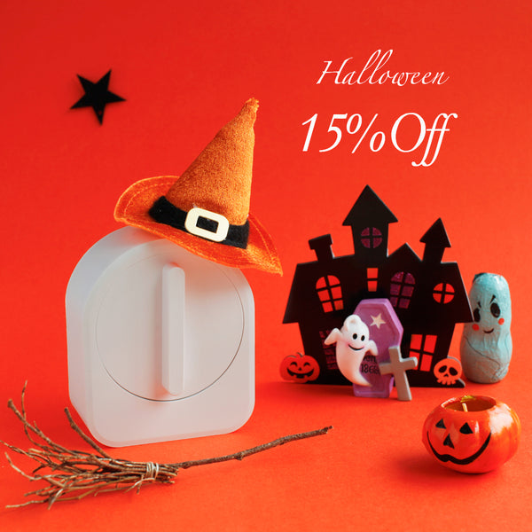 white sesame smart lock halloween discount