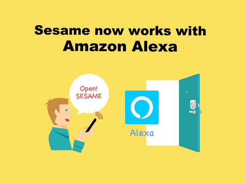 Sesame Smart Lock now works with Amazon Alexa
