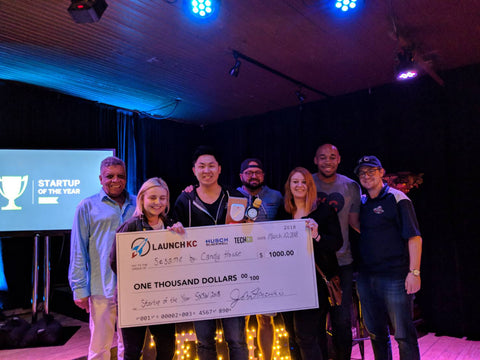 candy house wins startup night