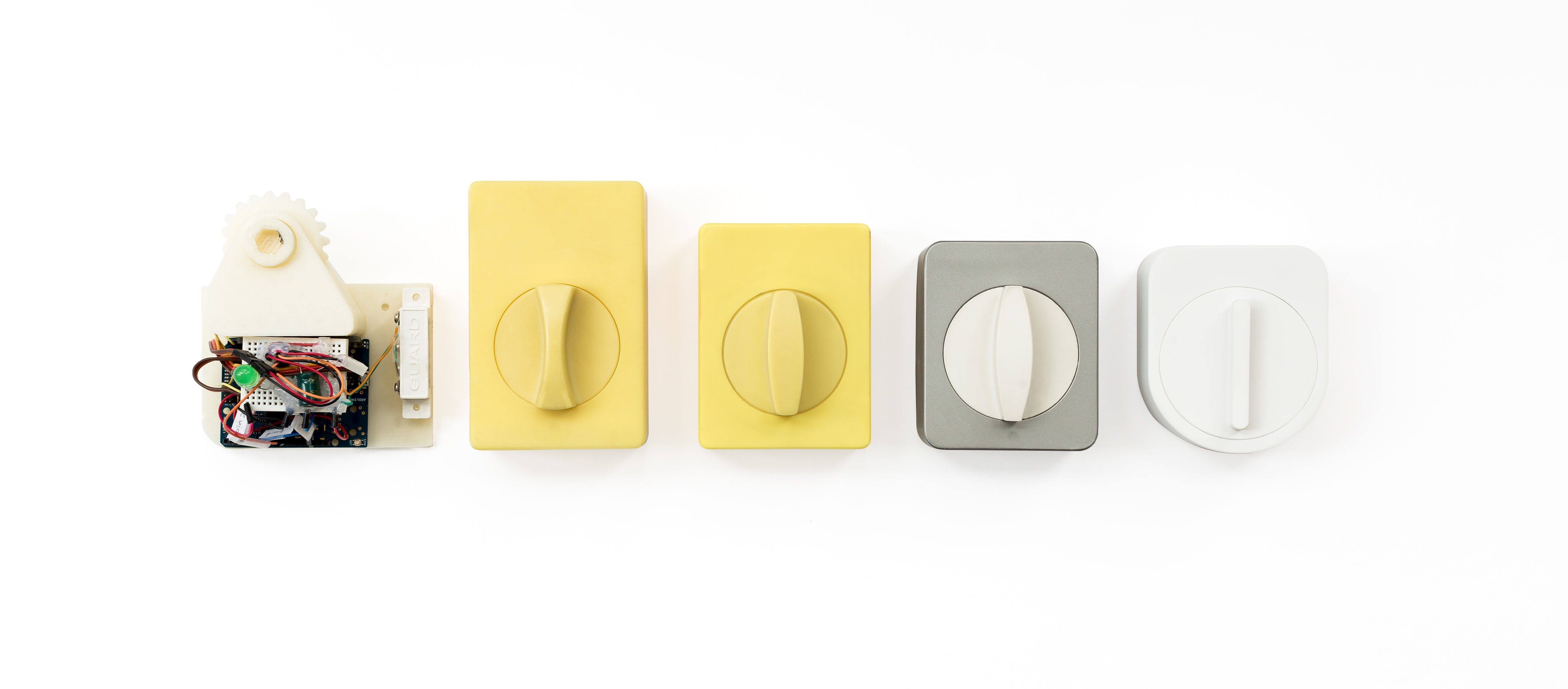 The evolution of the Sesame smart lock from prototype to final product