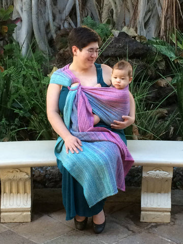 Anjela Bugher Review: Pleated Ring Sling
