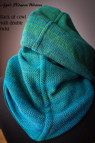 Under the Sea Cowl (Black 100% Cotton)