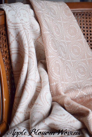 Heirloom Copper Throw Blankets