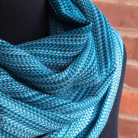 Agate (Teal Cotton) Cowls