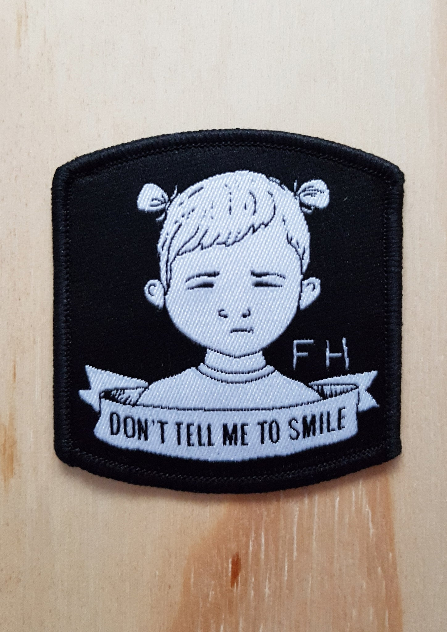 Baby Toddler Don't Tell Me To Smile Patch - From Harper