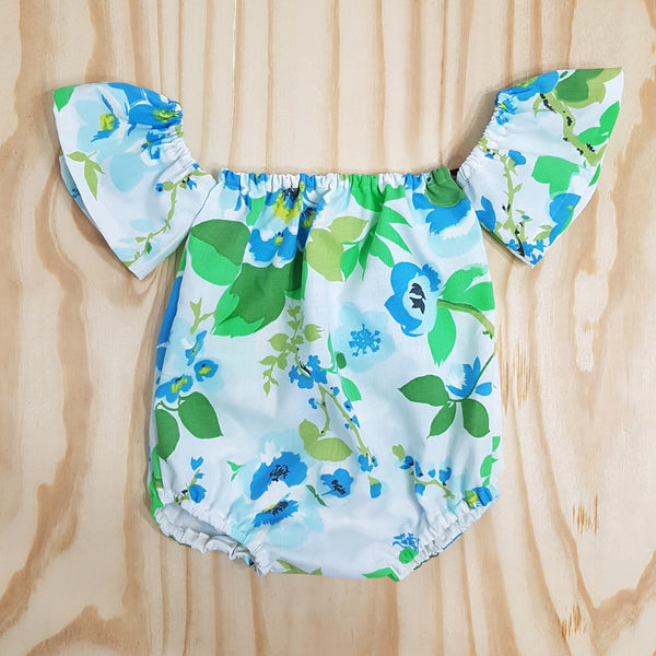 Baby Toddler Off the Shoulder Romper - From Harper