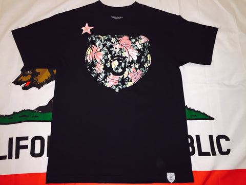 Cali Bear Tropical Floral - Black