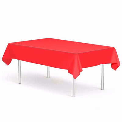 Logics Best Plastic Table Cloth Single Use Disposable Light Plastic Covers