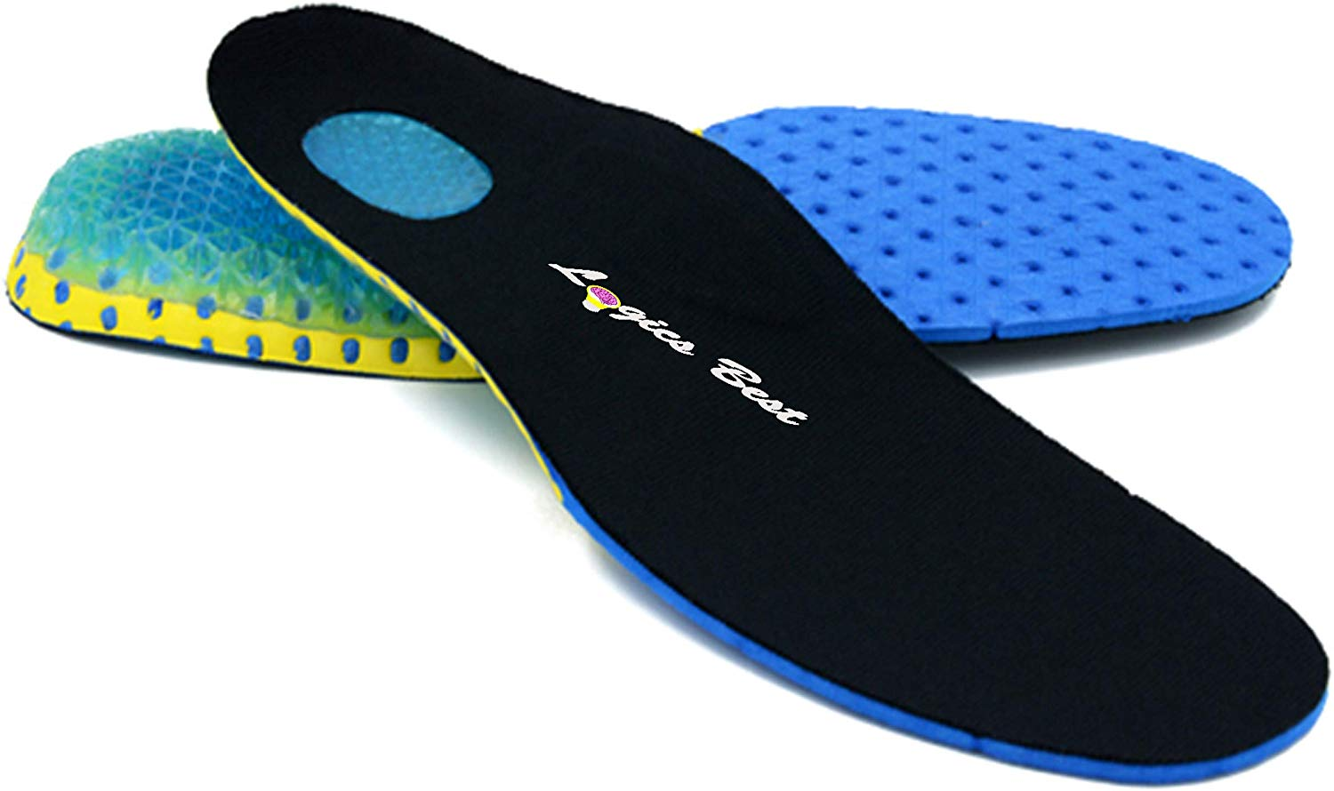 Pain Relief Insoles for Athletes, Shock Absorbing Insert for Maximum Support, Unisex, Anti-Fatigue Technology Replacement Insole