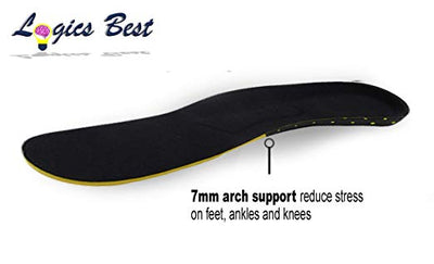 Plantar Fasciitis Flat Feet Insoles Arch Supports Orthotics Relieve High Arch, Foot, Heel Pain