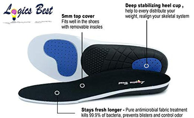 Professional-Grade High Arch Orthotic Insert