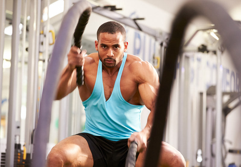 3 Battle Rope Moves to Blast Fat and Build Muscle
