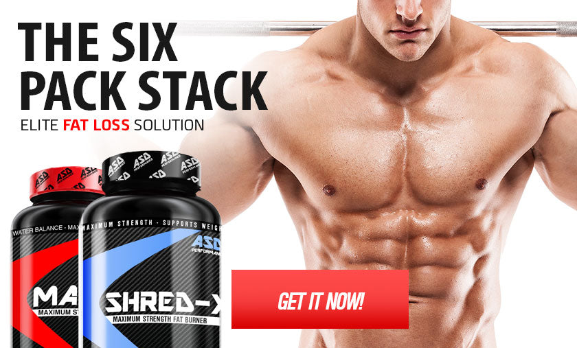 Six Pack Stack - Fat Loss Supplements