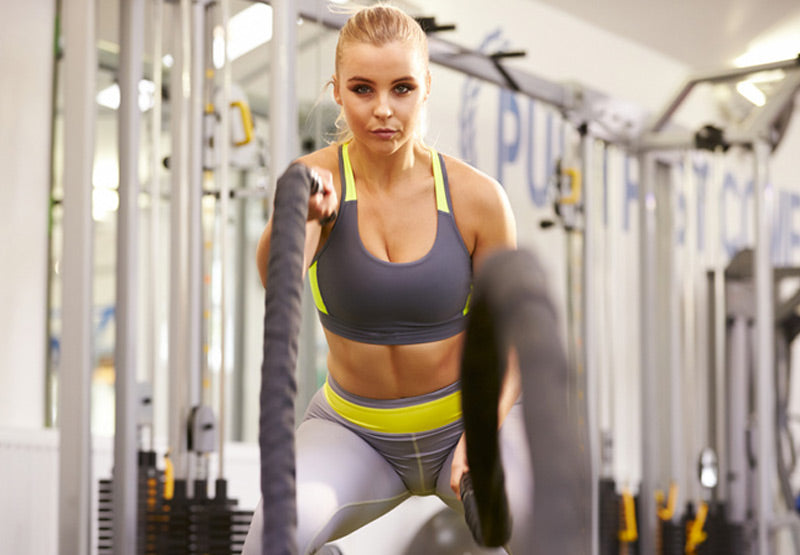 BATTLE ROPE MOVES TO BLAST FAT AND BUILD MUSCLE