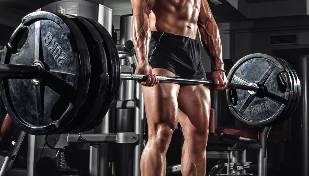 Deadlifts are great for developing leg mass