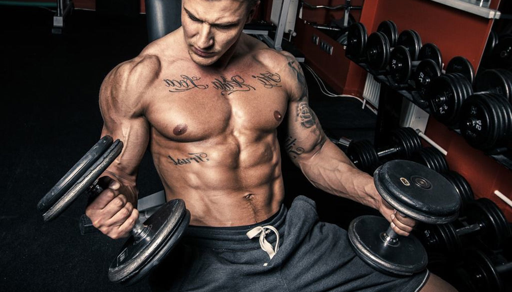 Focus on dumbbells rather than barbells