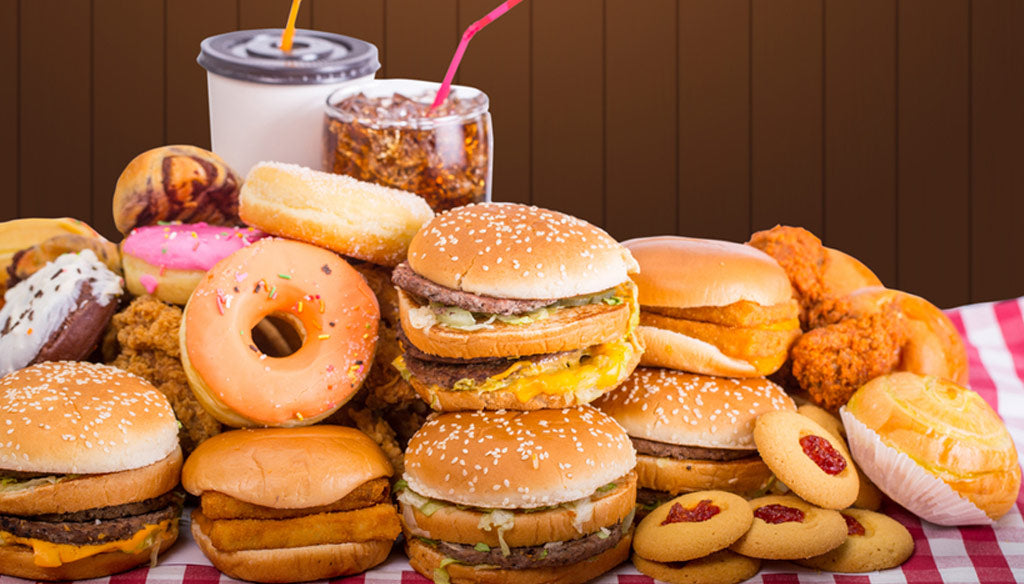 How not to lose weight with donuts, hamburgers and milkshakes!