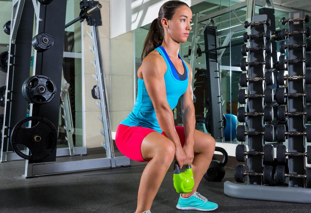 How to perform a Goblet Squat