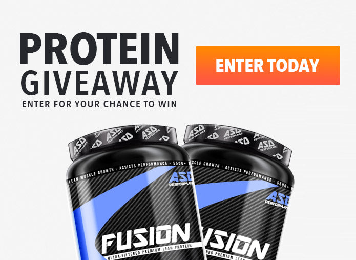 Protein Giveaway - Win FREE Protein