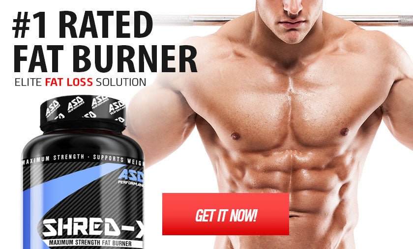 ASD Performance Shred-X - Best Fat Burner For Men