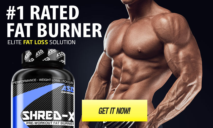 SHRED-X Powerful Pre Workout Thermo-genic Fat Burner